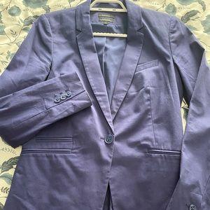 Formal vest in blue size 8